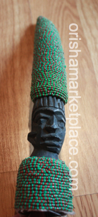 Beaded Carved Iroke
