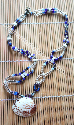 Beads for Yemoja and Olokun