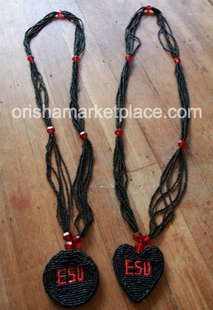 Esu Ileke Eshu Elegua Beads - Click Image to Close