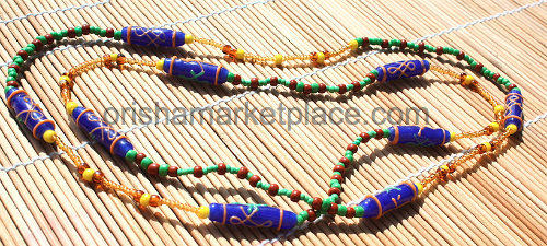 Ifa Orunmila Osun / Oshun Beads for Neck - $45 00 : Orisha