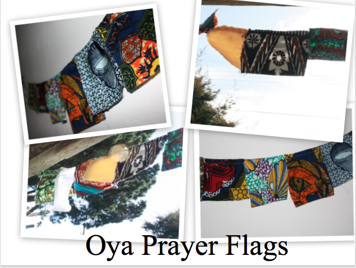Custom Oya Prayer Flags