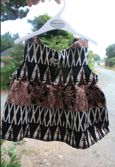 Custom African Baby Dress age 12-18months