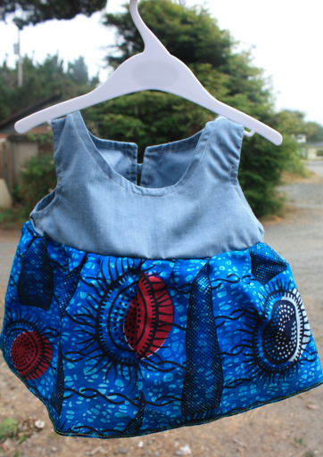 African Baby Dress age 9-12months