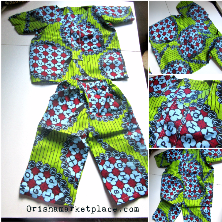 Ankara Toddler Dashiki