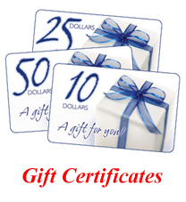 $10 Gift Certificate - Click Image to Close