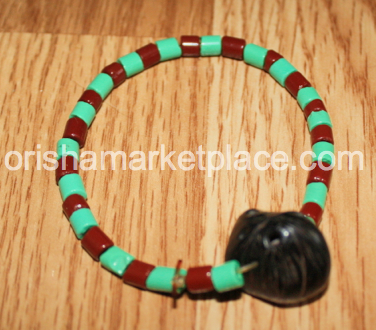 Large Ifa Beads Otutuopon For Wrist with Ikin Ifa