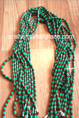 Large Ifa Beads Otutuopon For Neck